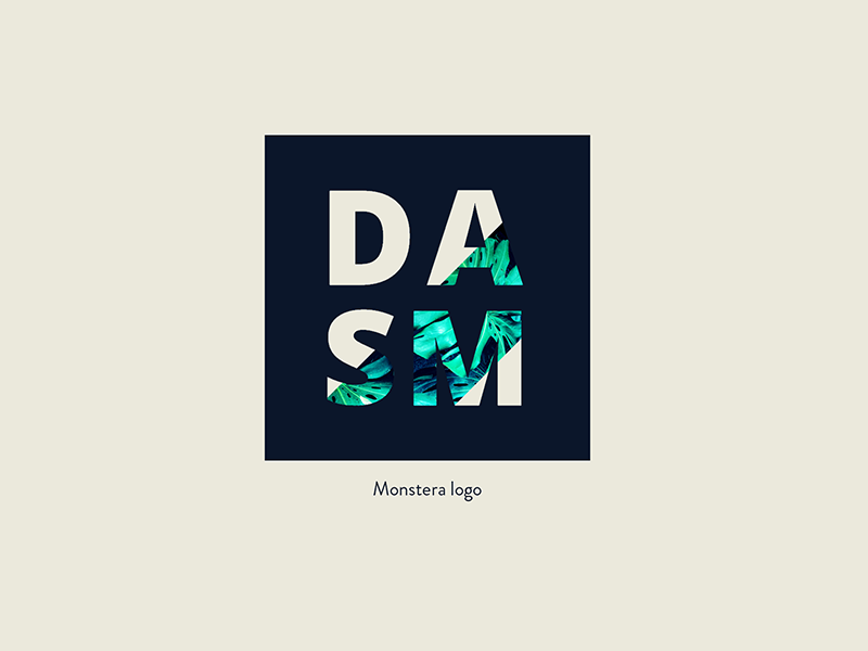 DASM Monstera Logo